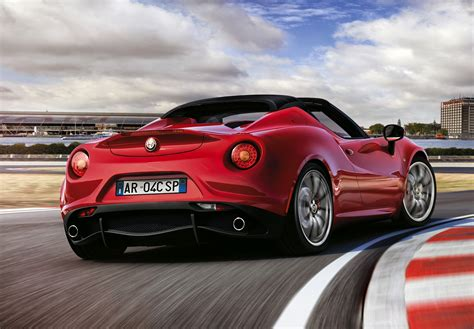 Romeo 4c by Alfa Romeo 4c Spider 2015 2018 Photos Parkers