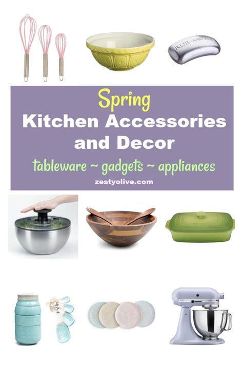 list of kitchen accessories kitchen accessories and decor zesty olive 7131