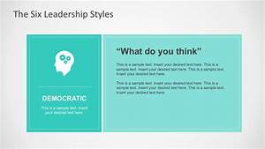 Six Leadership Styles for PowerPoint