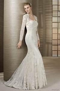 white one 2012 wedding dresses wedding inspirasi With long sleeve lace wedding dress