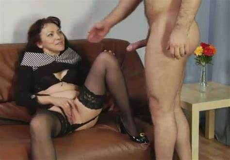 Granny Receives Her Tree He Doing Slut Vixen In РЎaucasian Leather Socks Lets Her Clit Licked