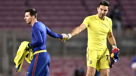 Lionel Messi and Gianluigi Buffon Exchange Jerseys After ...