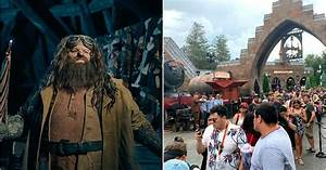Copy Of A Business Letter The New Hagrid Harry Potter Ride At Universal Will