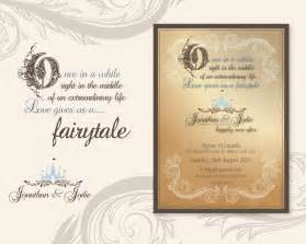 fairytale wedding invitations wedding invitations and stationery designs