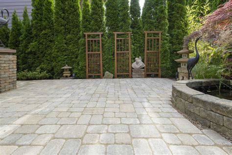 hardscape materials for patios which material should you choose for your patio or hardscape