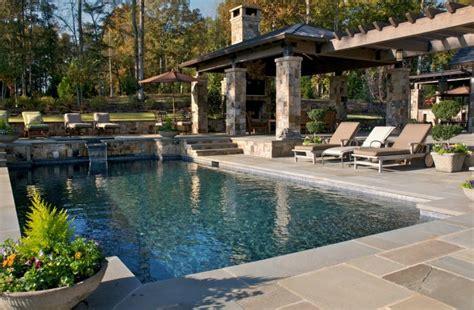 splendid rustic swimming pool designs  offer