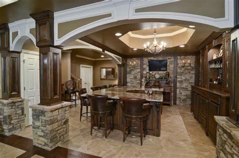 basement remodel traditional basement atlanta