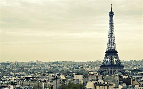 Eiffel Tower Background Menara Eiffel Bangunan Desktop Gambar Background Hd
