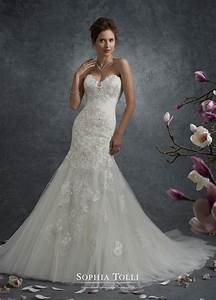 lace and shimmer tulle trumpet wedding dress sophia With shimmer wedding dress