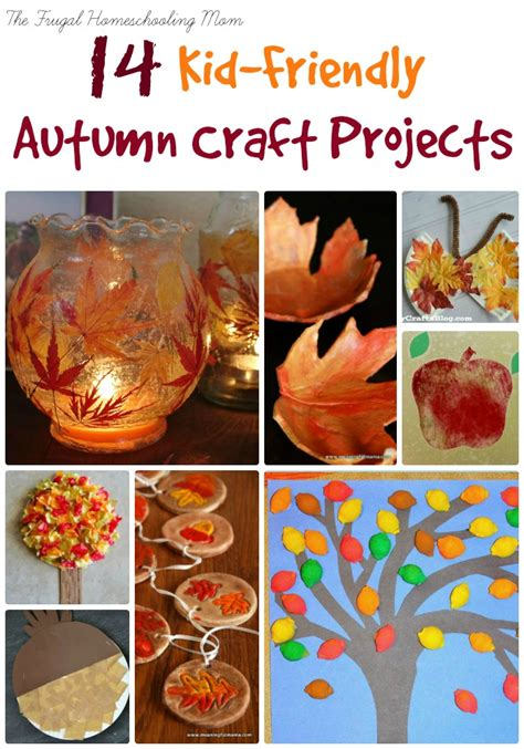 kid fall craft ideas 14 fall craft projects for busy homeschool the 4794