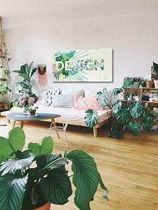 Toile Deco Salon : id e d co un souffle de printemps blog izoa ~ Teatrodelosmanantiales.com Idées de Décoration