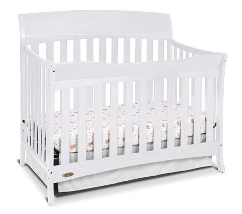 Graco Convertible Crib Bed Rail by Graco Graco Lennon 4 In 1 Convertible Crib White Baby
