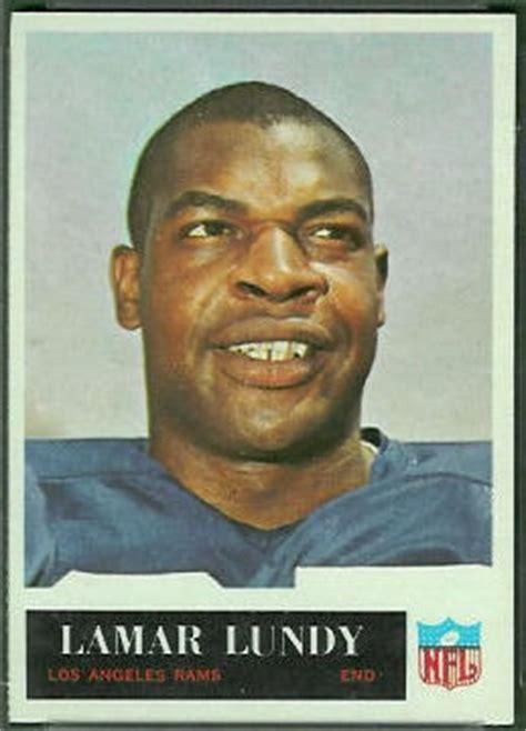lamar lundy rookie card  philadelphia  vintage