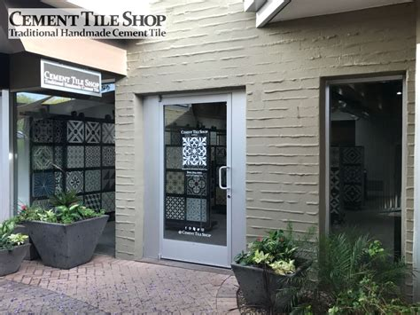 inspiration cement tile shop