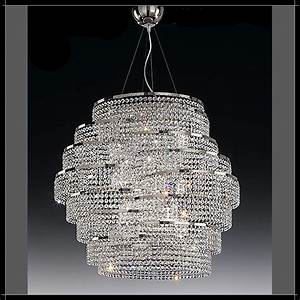Lustre Cristal Moderne : lustre moderne cristal voltolina cristal art deco moderne lustre moderne cristal voltolina ~ Teatrodelosmanantiales.com Idées de Décoration