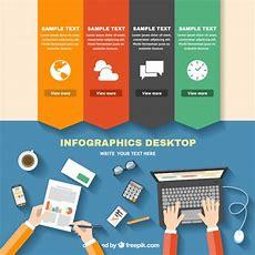 Infographic Desktop Vector  Free Download