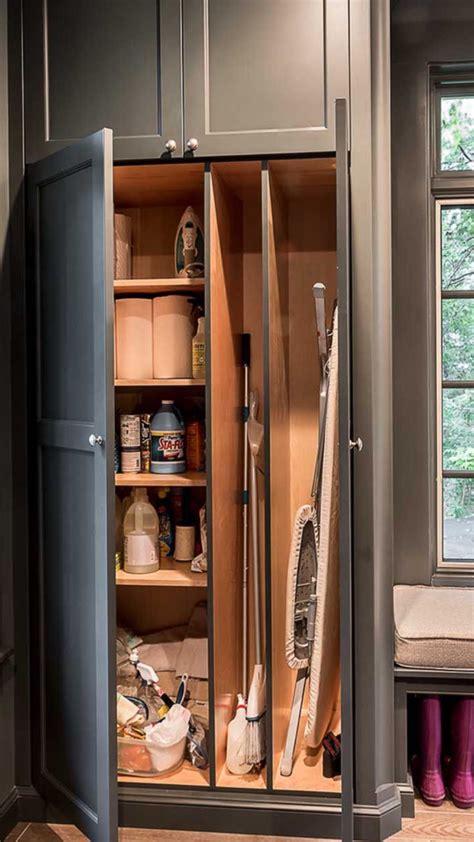 Small Broom Closet Organization Ideas by Broom Closet Organization Saved From Houzz Home