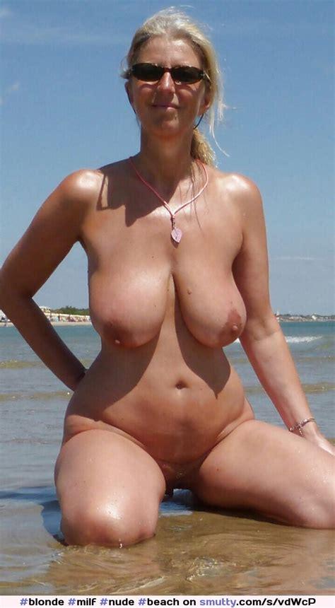 Blonde Milf Nude Beach Vacation Sunglasses Hangers