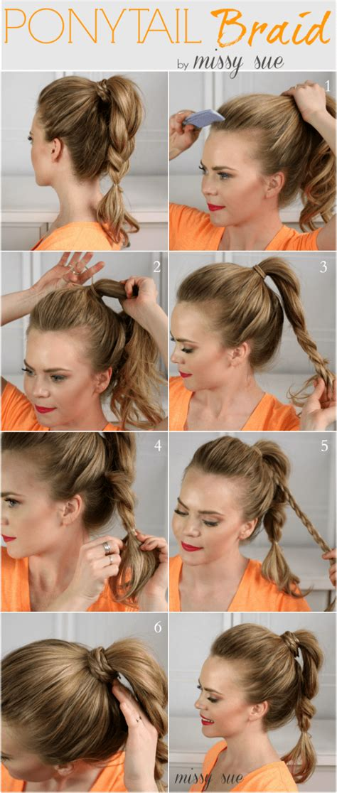 cute  easy ways  create awesome hairstyle