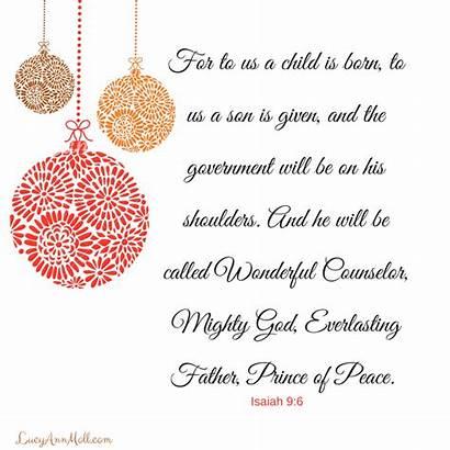 Christmas Holy Counselor Wonderful Peace God Prince