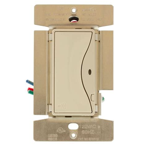rf light switch eaton aspire 8 rf single pole wireless light switch