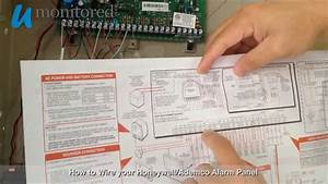 How To Wire Your Honeywell  Ademco Alarm Panel