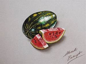 Watermelon DRAWING by marcellobarenghi on DeviantArt