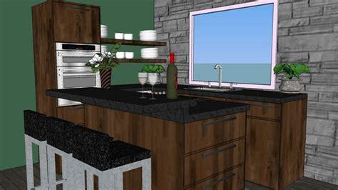 sketchup components  warehouse kitchen sketchup