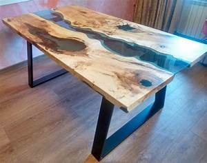 20 most unique river tables updated list With live edge river coffee table