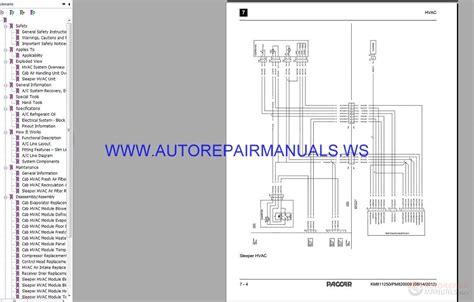 1994 Peterbilt Dash Wiring Diagram Schematic by Peterbilt Trucks 379 579 Electrical Schematic Maintenance