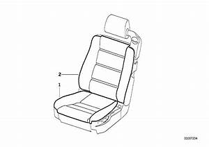 1991 Bmw 850i Coupe E31  Seat Cover Front