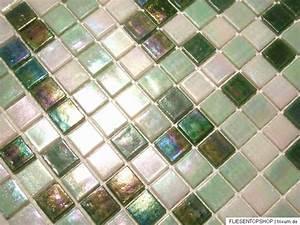 Mosaik Fliesen Außenbereich : glasmosaik fliesen mosaik perlmutteffekt weiss gr n perlmutt bad pool dusche ebay ~ Yasmunasinghe.com Haus und Dekorationen