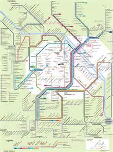 S bahn netzplan und karte von Wien : stationen und linien