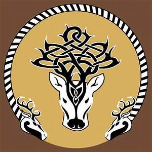 Celtic Stag torque design Celtic Culture Pinterest