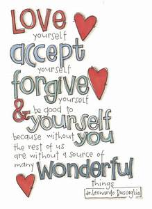 Quotes About Love: Quotes About Loving Yourself