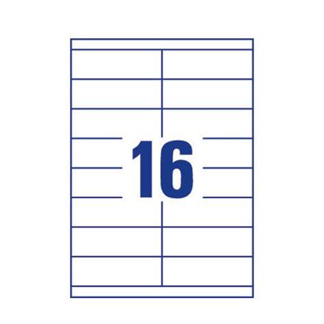 avery address laser labels 16 labels per sheet 100 sheets