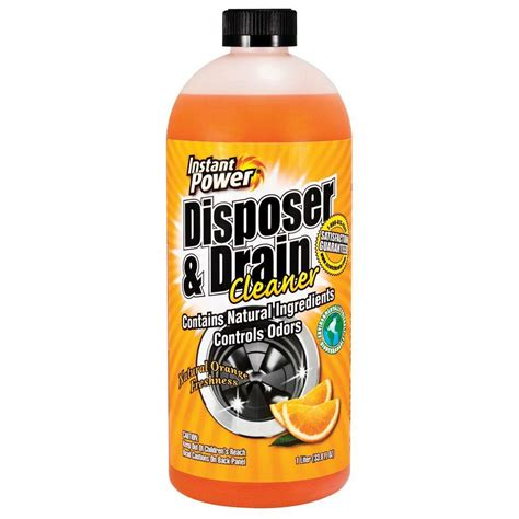 best kitchen sink drain opener instant power 33 8 oz disposal and drain cleaner orange 7722