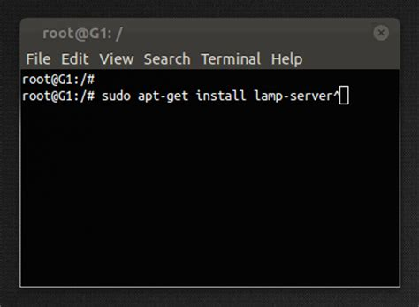 Install Lamp Server On Ubuntu With A 1-line Command