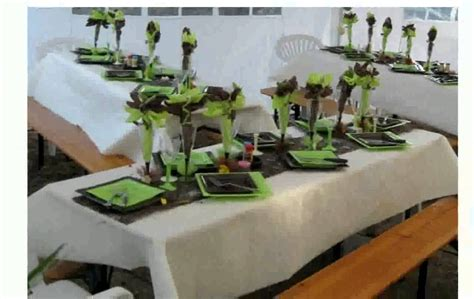 decoration de table anniversaire  ans homme