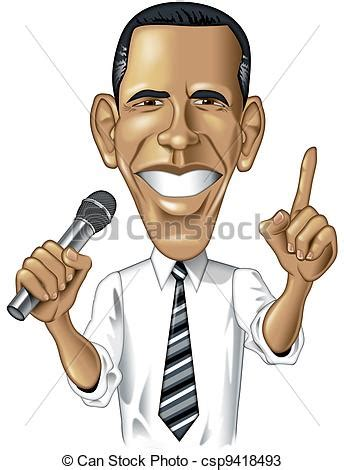 drawings  barack obama caricature digital cartoon