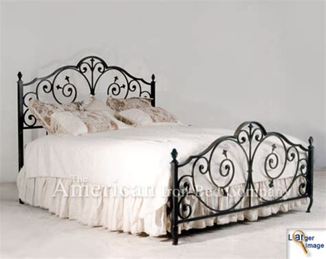 Antique Wrought Iron King Headboard by Cast Iron Headboard On Antique Iron Headboard King