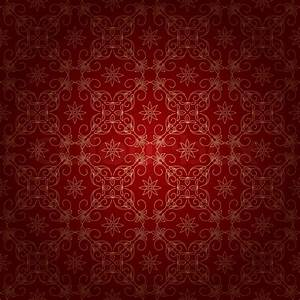 Red beautiful vintage background with gold ornament