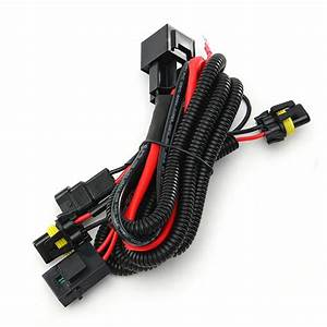 Wiring Harness Relay Kit For 9005 9006 H3 Hb4 H10 9140