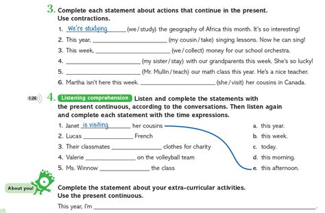 integrated grammar exercises for class 9