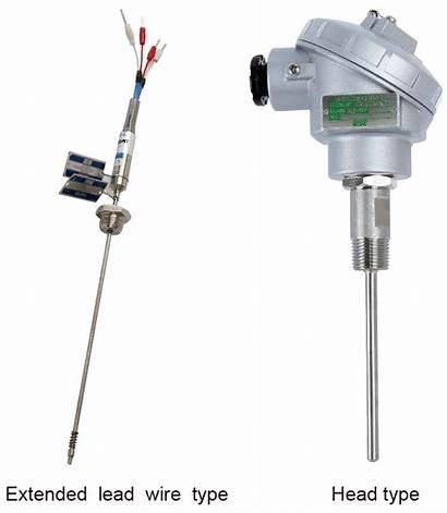 Temperature Wise R202 R200 R201 Detector Resistance