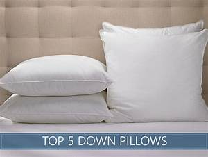 the 5 highest rated down pillows available in 2018 With best down filled pillows
