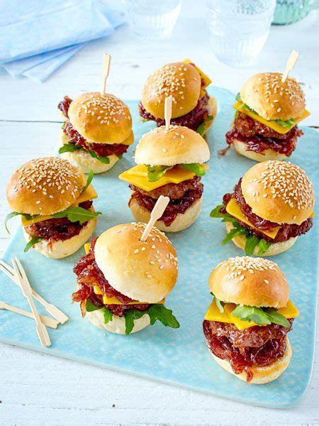 mini burger recipe food und drinks rezepte