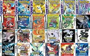 all pokemon games in order of release
