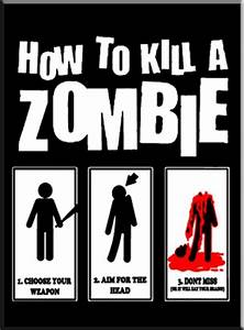 Anvil T Shirts Size Chart How To Kill A Zombie T Shirt Zombie Tshirts Undead T