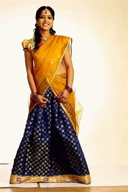 Divya Singh Saree Actress Half Telugu Latest